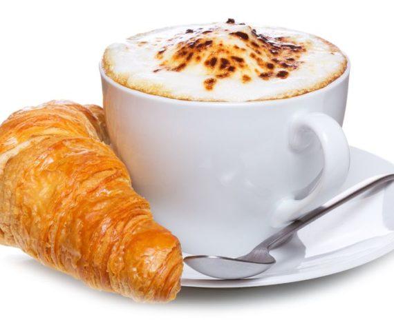 Cappuccino  Croisant